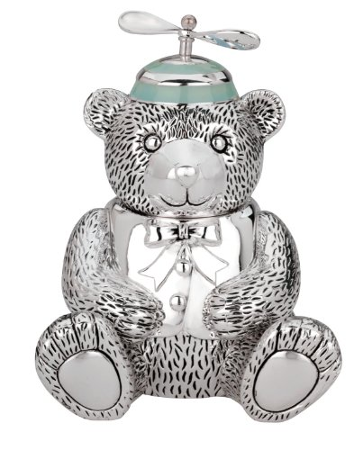Reed & Barton Silver Plate Boy Bear - Store Barton