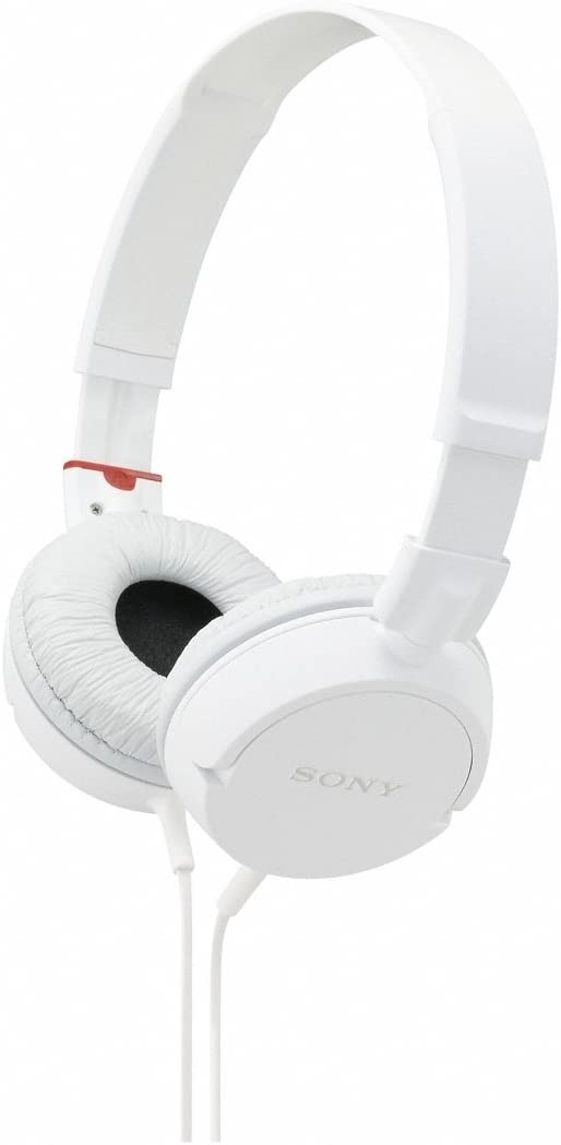 Sony MDRZX100 ZX Series Stereo Headphones White
