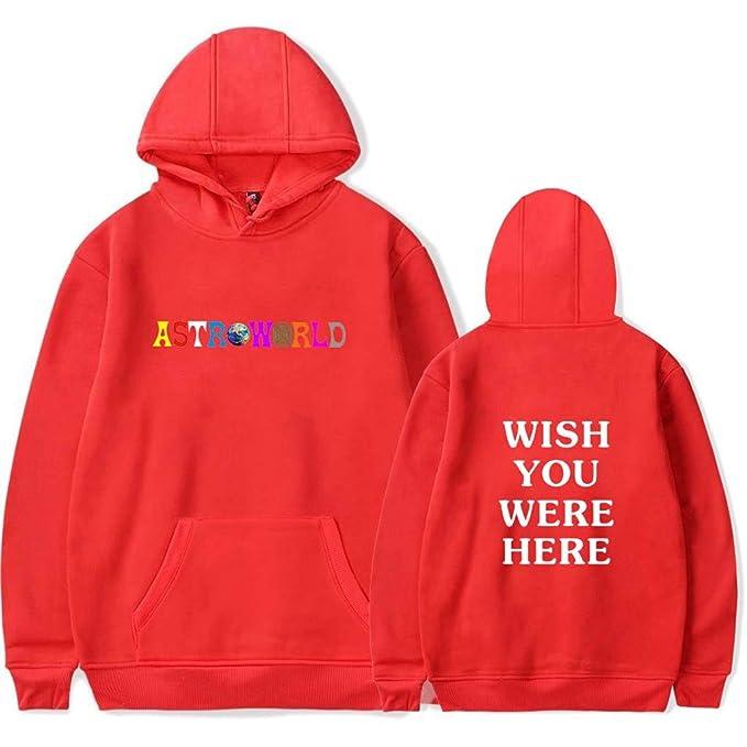 7f5fc80a9cc5 ZXTY Travis Scott Astroworld Hoodies Fashion Letter Print Pullover(Unisex)  Wish: Amazon.ca: Clothing & Accessories