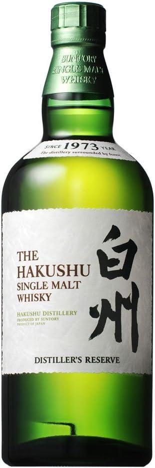 The Hakushu Distillers Reserve Japanese Single Malt Whisky 70cl