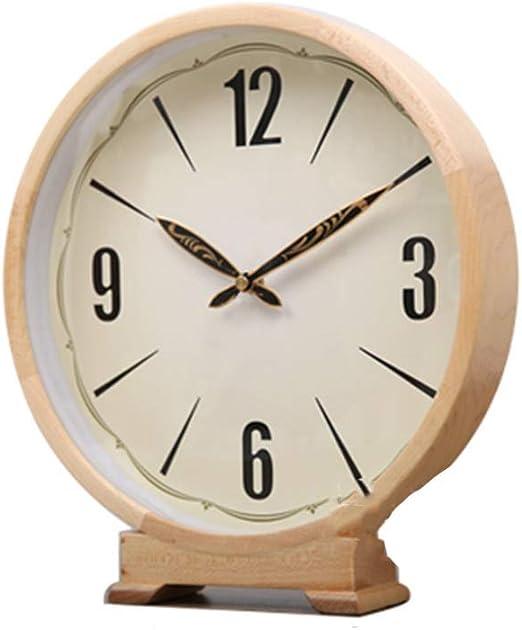 Reloj de Mesa de Madera - Sala de Estar Dormitorio Decoración de ...