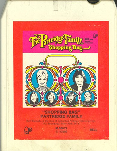 Anticuria Partridge Family: Shopping Bag 8 track tape (Family Bag Partridge Shopping)
