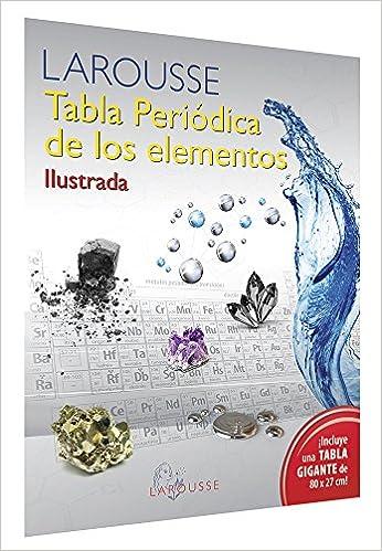 tabla periodica de los elementos ilustrada varios 9786072104969 amazoncom books