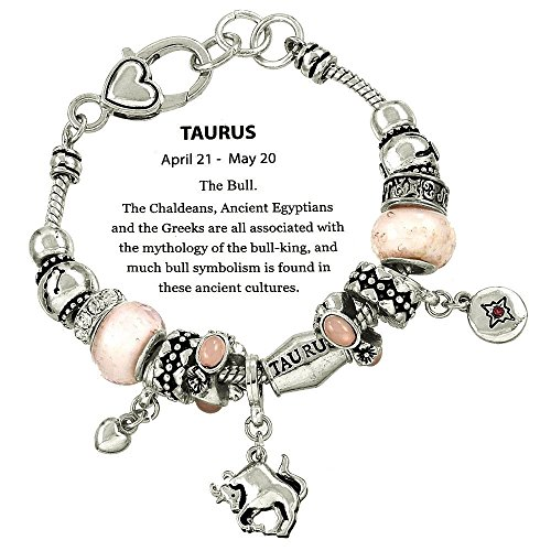 dianal-boutique-zodiac-sign-taurus-the-bull-horoscope-bracelet-murano-beads-pandora-inspired-gift-bo