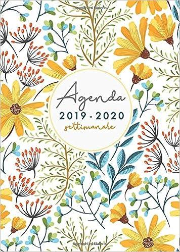 Agenda 2019 2020 settimanale: agenda 2019 2020 A5 ...