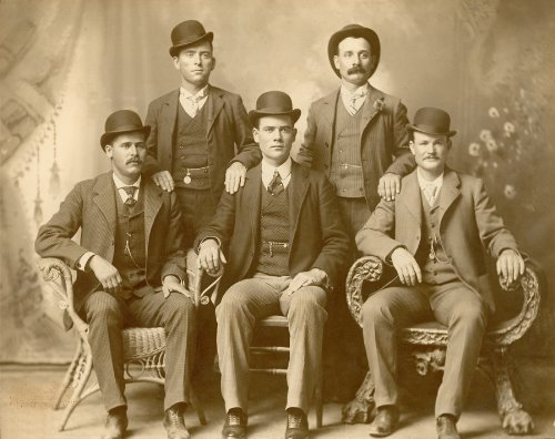 The Wild Bunch Butch Cassidy and The Sundance Kid Poster Art Photo Western Cowboy Outlaws Posters Photos 11x14 (Real Butch Cassidy And The Sundance Kid Photos)