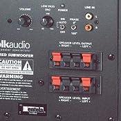 """Amazon.com: Polk Audio PSW10 10"""" Powered Subwoofer"""