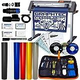 "Graphtec CE6000 Plus 24"" Vinyl Cutter Plotter Bundle w/Oracal 751 Sign Vinyl and Weeding Kit (CE6000P-60)"