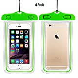 (4Pack) Universal Waterproof Case, CaseHQ Cellphone Dry Bag - Best Reviews Guide