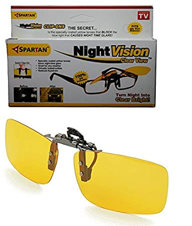 02240ddc2c Spartan Night Vision Clip on Goggles  Amazon.in  Car   Motorbike