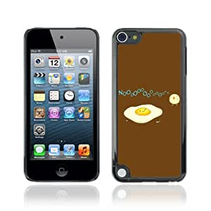 CQ Tech Phone Accessory: Carcasa Trasera Rigida Aluminio Para Apple iPod Touch 5 - Funny Egg & Bird Illustration