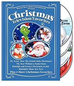 Christmas Television Favorites Dr Seuss How The Grinch Stole Christmas The Year Without A Santa Claus Rudolph And Frostys Christmas In July Rudolphs Shiny Year And More by Warner Home Video