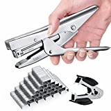Stapler Plier Heavy Duty with 1000 Staples Set 20 sheets Large Capacity No - Best Reviews Guide