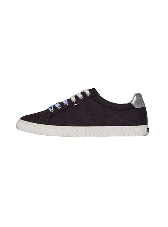 Schuhe Tommy Jeans Casual Marine Blau Damen  | Hohe Sicherheit  | Innovation  | Modern Und Elegant In Der Mode