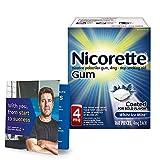 Nicorette Nicotine Gum to Stop Smoking, With Quit