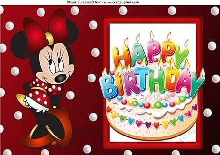 Nick Bowley - Pasteles de cumpleaños con diseño de Minnie ...