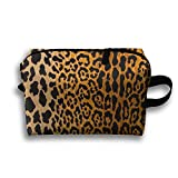 Best Prints Gifts For Bar Foyers - Leopard Print Travel Bag Large Toiletries Bag Cosmetic Review