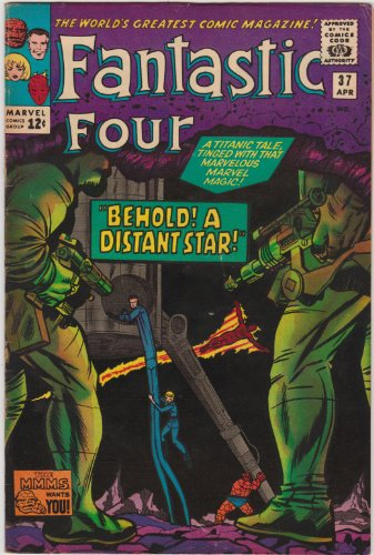 (Fantastic Four #37 Silver Age Marvel Comic)