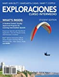 img - for Exploraciones Curso Intermedio (with iLrn Printed Access Card) (World Languages) book / textbook / text book