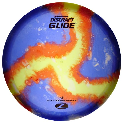 Discraft Glide Elite Z Fly Dye Golf Disc, 175-176 ()