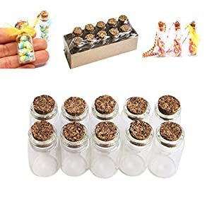51l3rsKT6gL._SS300_ Large & Small Glass Bottles With Cork Toppers