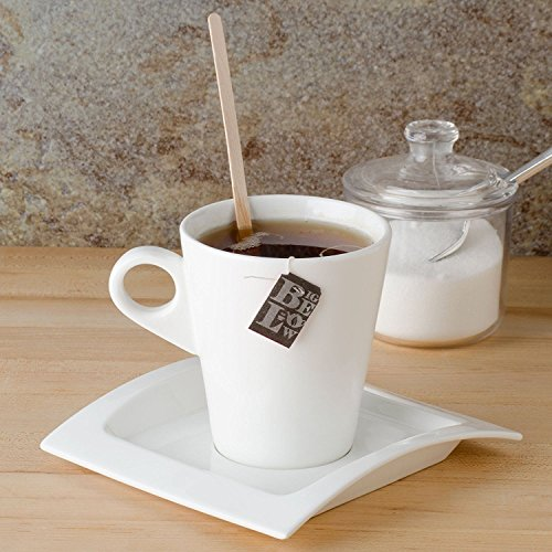 Birch Wood Coffee / Beverage Stirrers 7'' (1000 pack) Eco-Friendly Great For Your Coffee Nook. by CulinWare (Image #3)