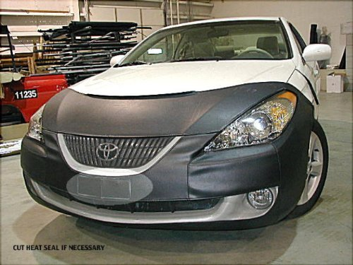 Lebra 2 piece Front End Cover Black - Car Mask Bra - Fits - TOYOTA,SOLARA,EXCLUDES SPORT,2004 2006
