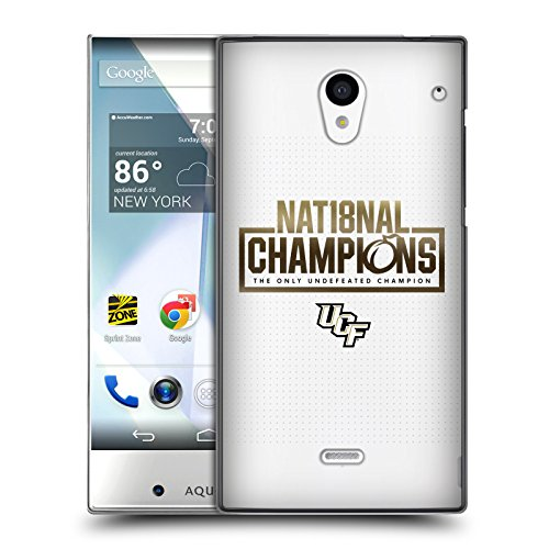 Of Central Florida UCF 2 National Champions 3 Hard Back Case for Sharp Aquos Crystal 305SH ()