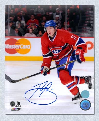 Brendan Gallagher Montreal Canadiens Autographed Game Action 8x10 Photo At Amazon S Sports Collectibles Store