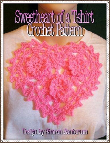 Sweetheart of a T-shirt Crochet -