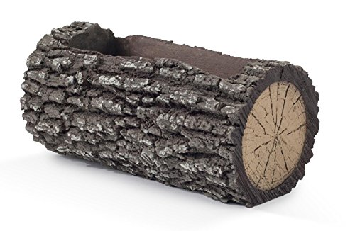 REAL Planters H-1 Horizontal Log Planter, Small, Oak ()