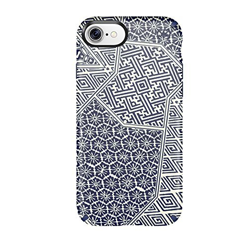speck-products-presidio-inked-cell-phone-case-for-iphone-7-6s-6-shibori-tile-blue-matte-marine-blue