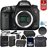 Canon EOS 7D Mark II Digital SLR Camera 9128B002 (Body Only) International Model – Bundle with 32GB Memory Card + 1 Year Seller Warranty + Spare Battery + More Review