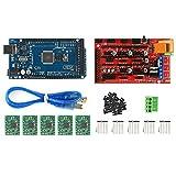 3D Printer Kit - LeaningTech 3D Printer Kit Mega 2560 + RAMPS 1.4 + 5X A4988 for Arduino RepRap