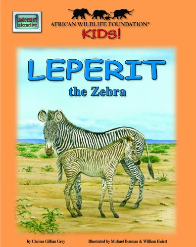 Leperit the Zebra - An African Wildlife Foundation Story (with audio CD) (African Wildlife Foundation Kids!) by Soundprints Corp Audio