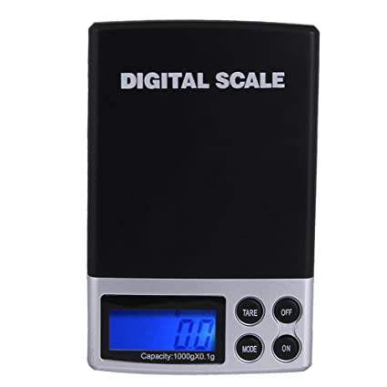 HighPlus Gram Scale 1000g/0.1g Digital Scale Mini Pocket Jewelry Scale