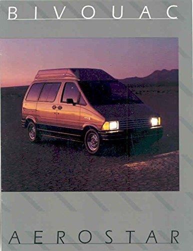 1985 Ford Bivouac Aerostar Conversion Van Brochure