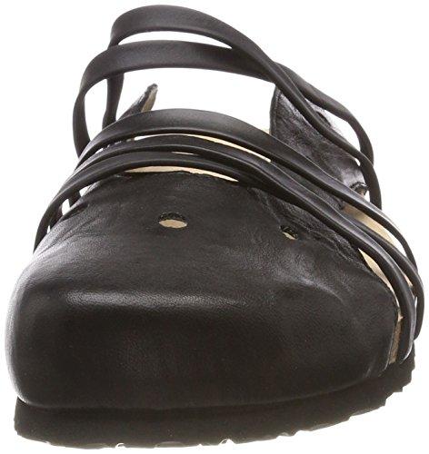 282325 Femme Sabots Bluza Noir schwarz 00 Think 8q5P0xnBB
