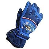 Kids Snowboard & Ski Gloves Waterproof Winter Snow Warm Glove for Children's Snow Sports