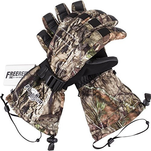 Flambeau Outdoor F200 Heated Glove with Synthetic Palm, Camo-Medium