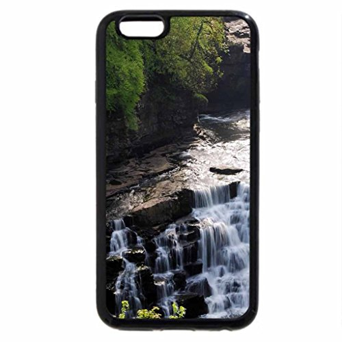 iPhone 6S / iPhone 6 Case (Black) mountain stream with falls