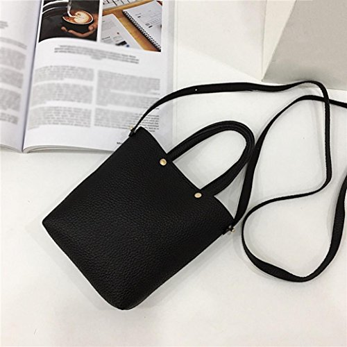 Crossbody With Shoulder TOOPOOT Corssbody Bags Pure Deals Saddle Women Bag Bags Clearance color amp;Handbag Shoulder Black qxtYfwPn