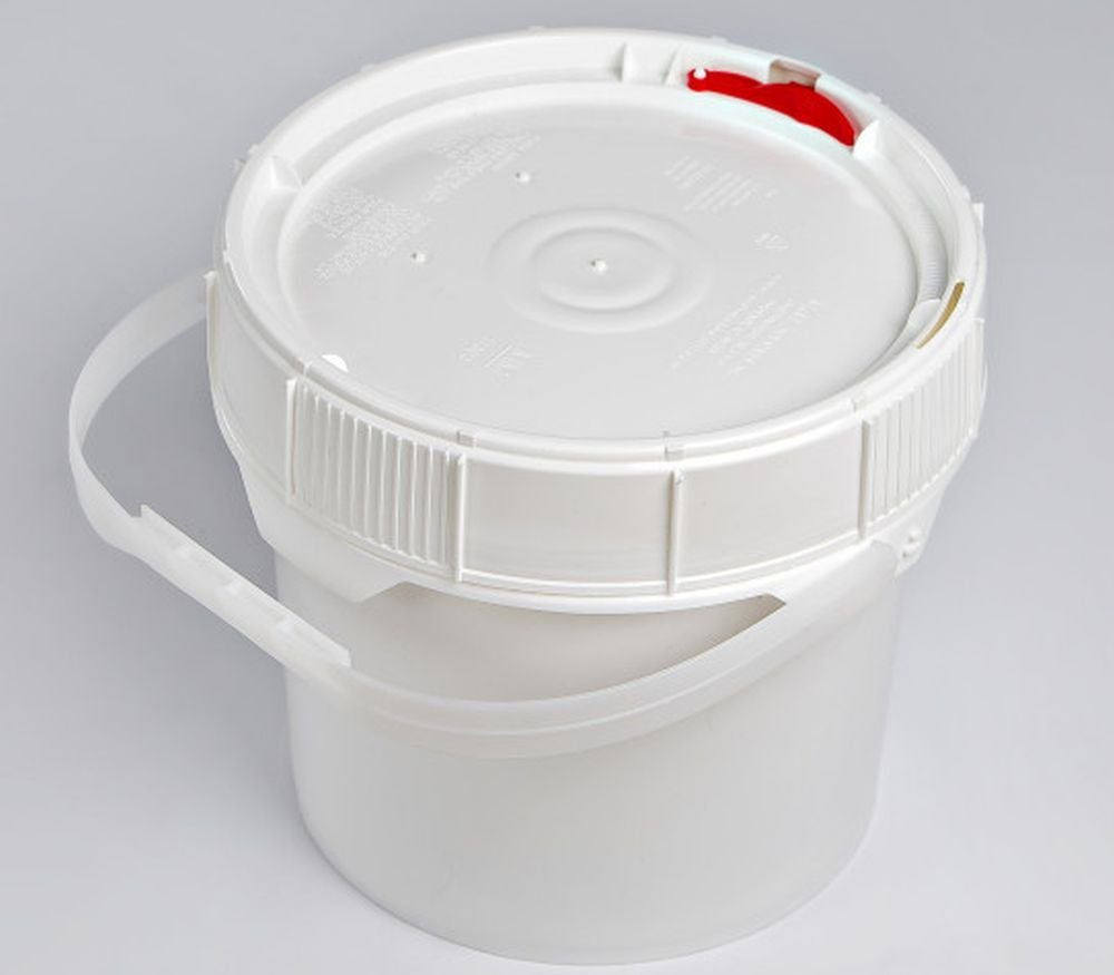 Life Latch 1.25 GAL Screw TOP Food Grade Bucket-6 Pack by BayTec (Image #1)