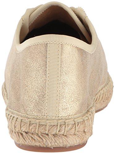 Splendido Sandalo Piatto Da Donna In Oro