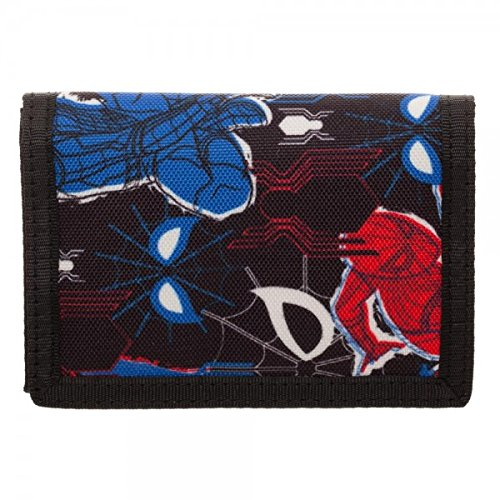 (Spiderman Homecoming Triforld Velcro Wallet)