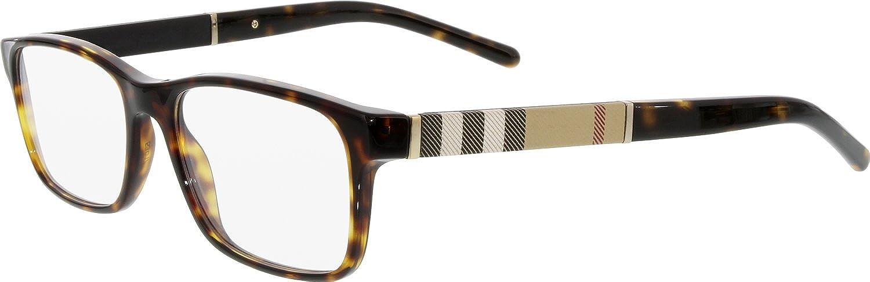 f11f056219 Burberry BE2162 Eyeglasses-3002 Dark Havana-53mm  Amazon.ca  Jewelry