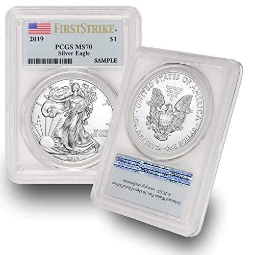2019 American Silver Eagle $1 MS70 PCGS First Strike