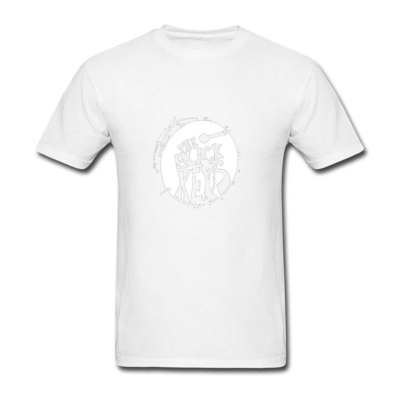 Black keys t shirt uk - Men S The Black Keys Logo T Shirts Short White Xl