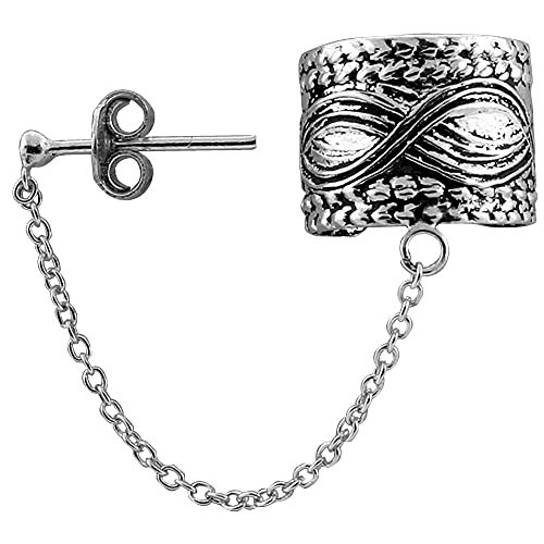 Sterling Silver Earring Chain piece