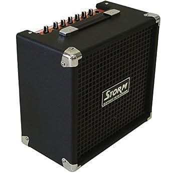 Amplificador de Guitarra Eléctrica Harley Storm SG20BK: Amazon.es: Instrumentos musicales